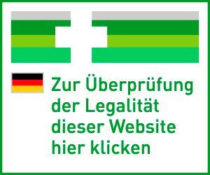 Zur Überprüfung der Legalität dieser Website hier klicken