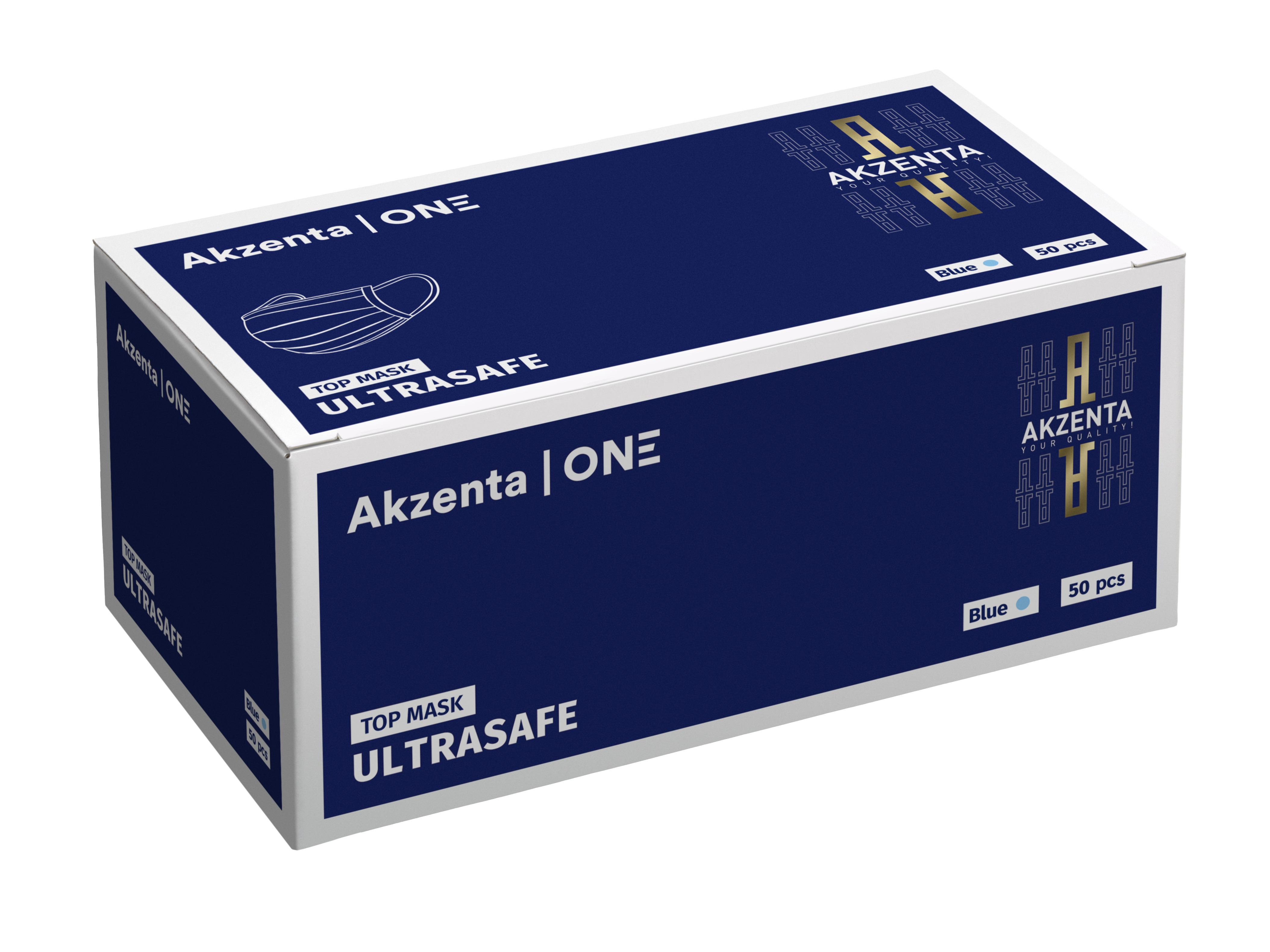 TOP-MASK ULTRA SAFE - OP-Mundschutz mit Gummiband   Typ II R