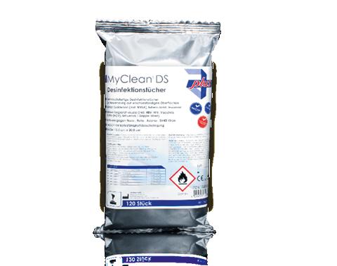 MaiMed MyClean DS - Desinfektionstücher im Nachfüllpack
