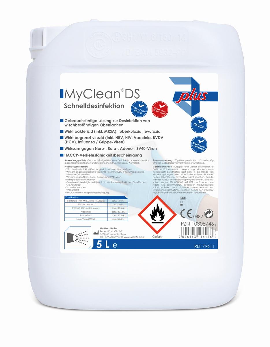 MaiMed MyClean DS - Flächendesinfektionsmittel