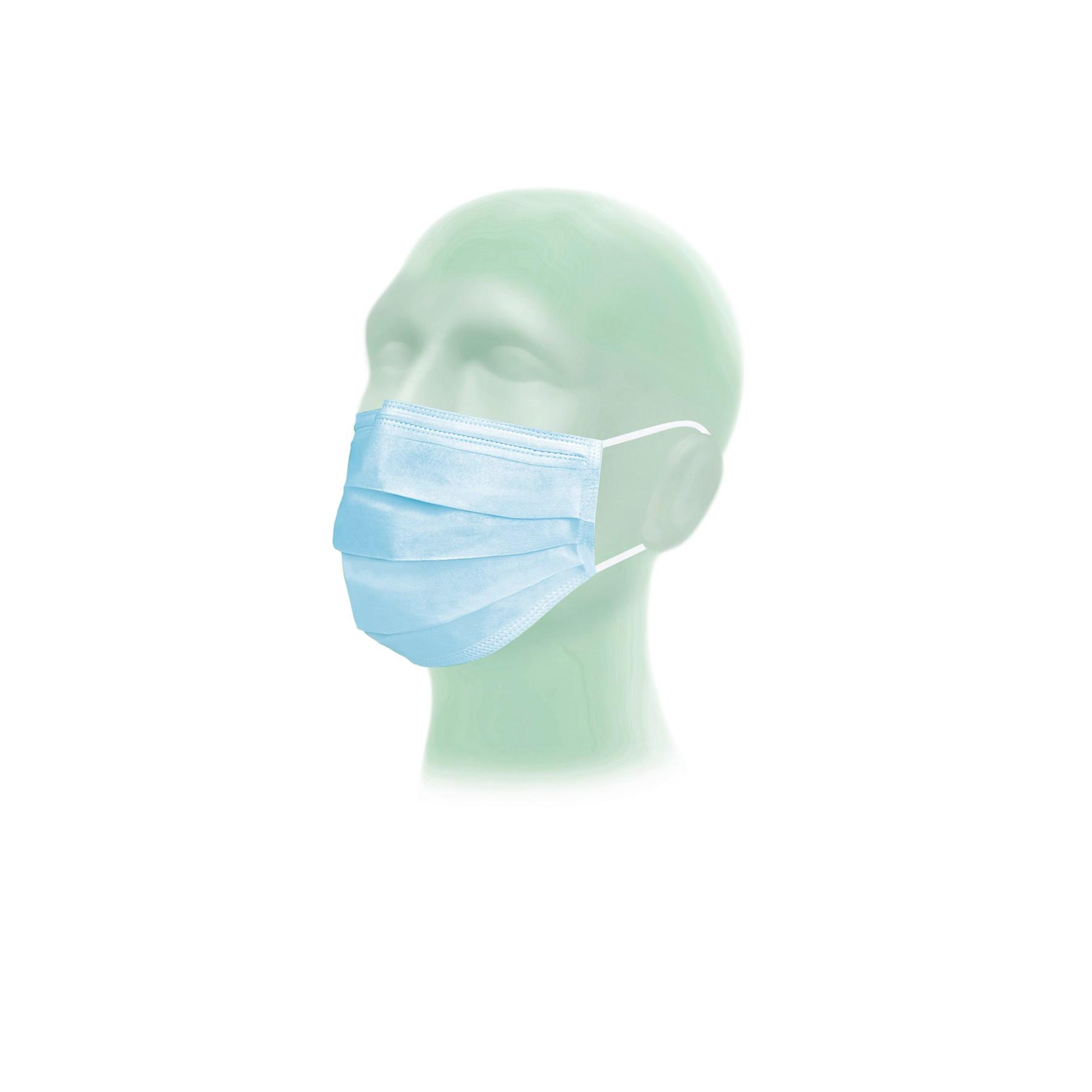 Suavel Protec - OP-Mundschutz mit Gummiband | Typ II