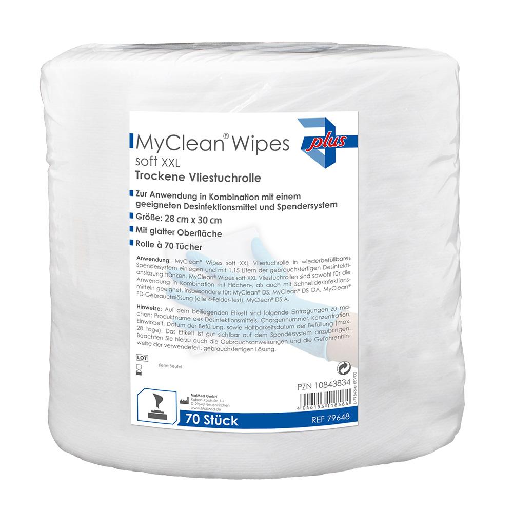 MaiMed MyClean Wipes Soft XXL (28 x 30 cm)