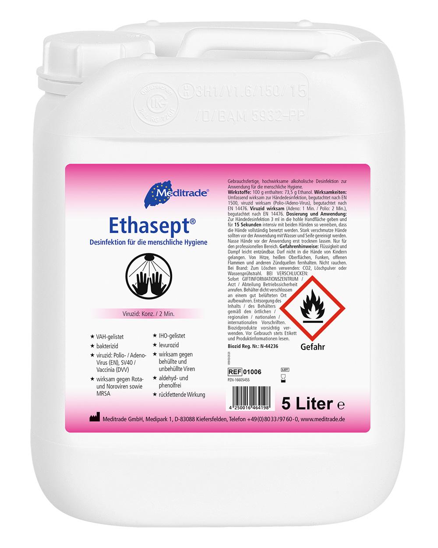 Produktbild Meditrade Ethasept 5 Liter