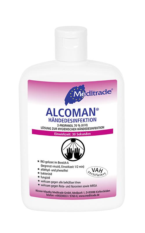 Alcoman plus - Händedesinfektionsmittel