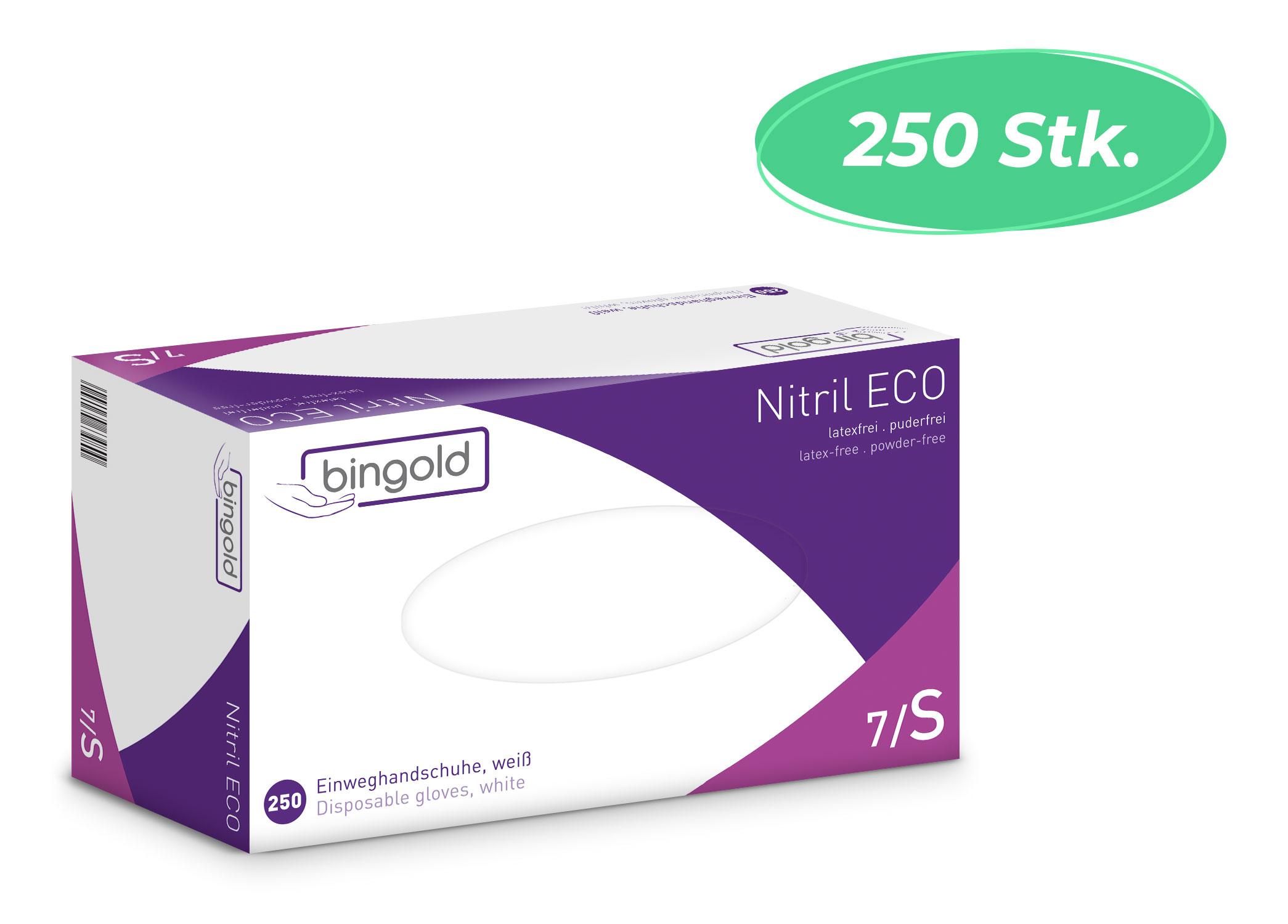 Bingold Nitril ECO - Nitrilhandschuhe - 250 St.