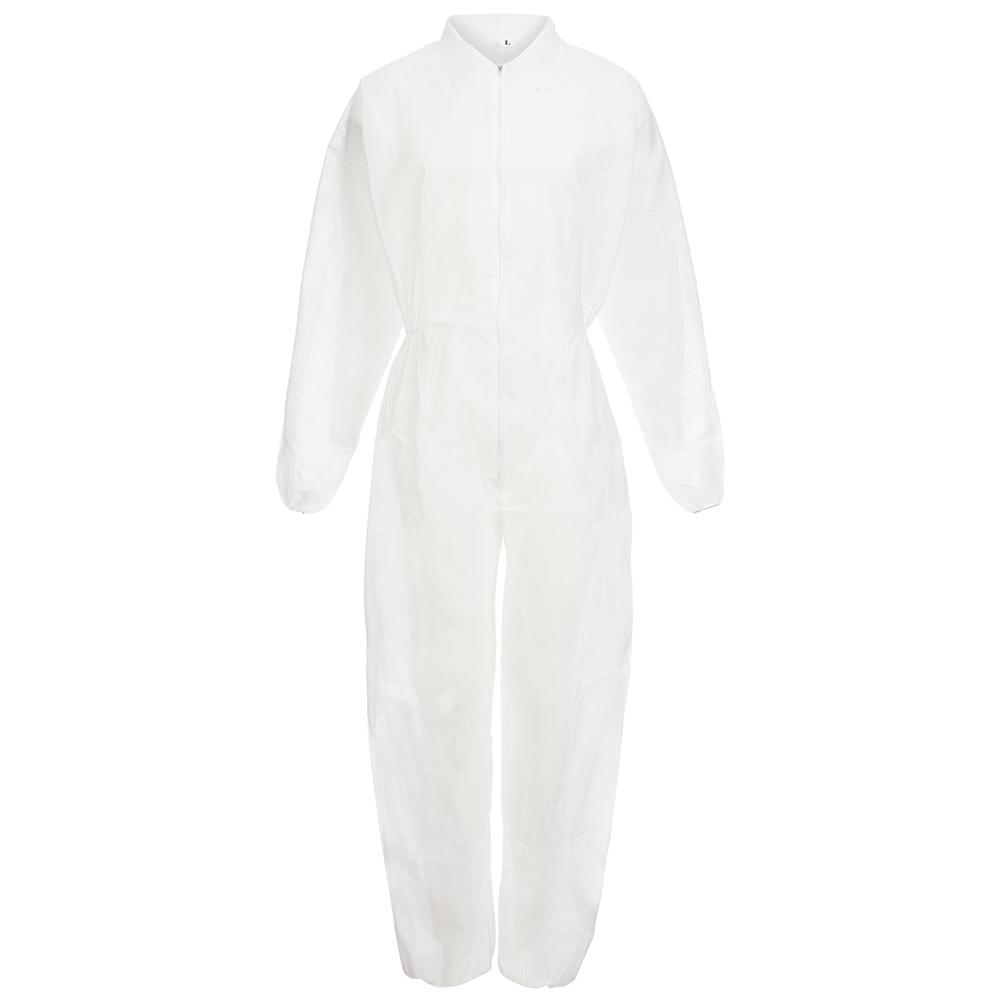NITRAS PP-Einweg-Anzug mit Kapuze