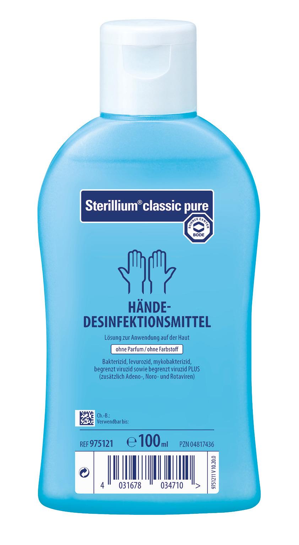Sterillium classic pure - Händedesinfektionsmittel