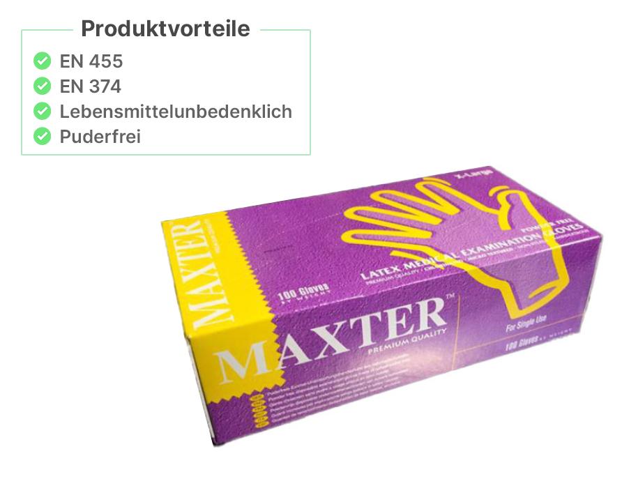 MAXTER - Latexhandschuhe