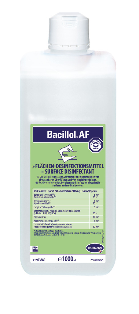 Bacillol AF - Flächendesinfektionsmittel