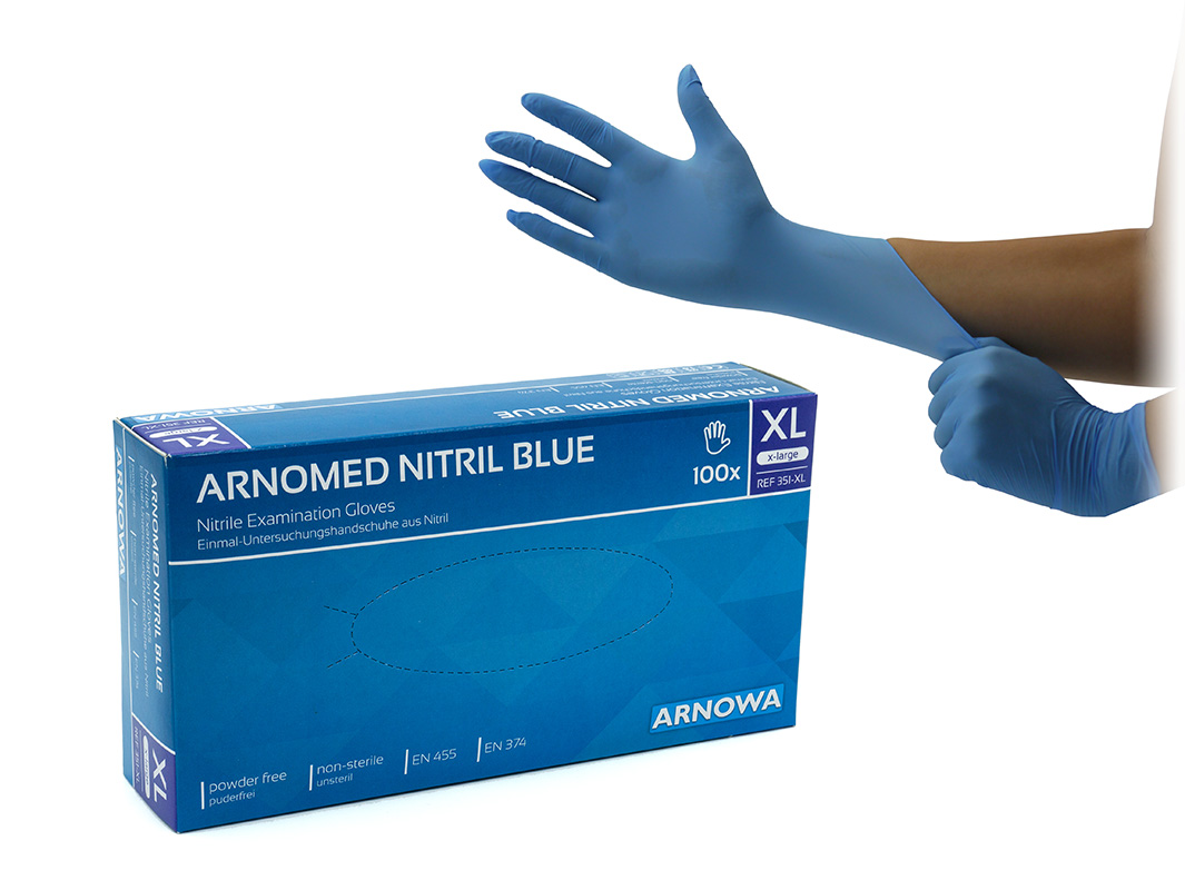 Produktbild ARNOMED Nitril Blue