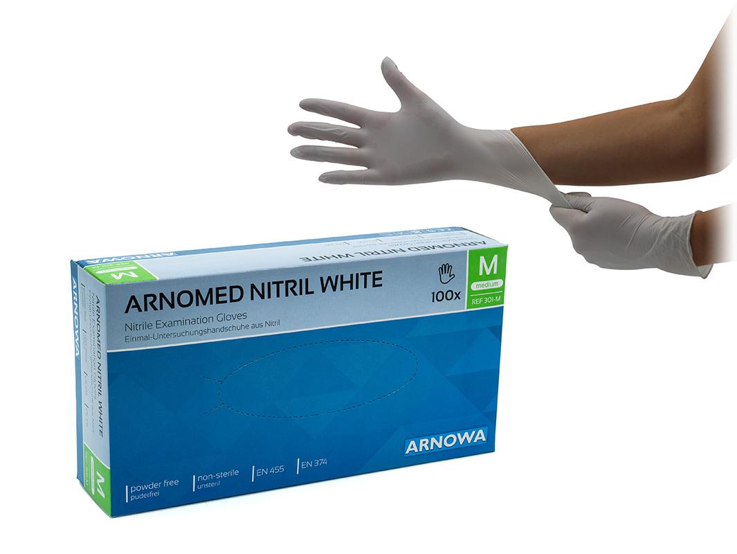 Produktbild ARNOMED Nitril White