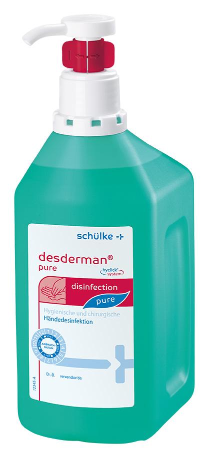 desderman pure hyclick - Händedesinfektionsmittel