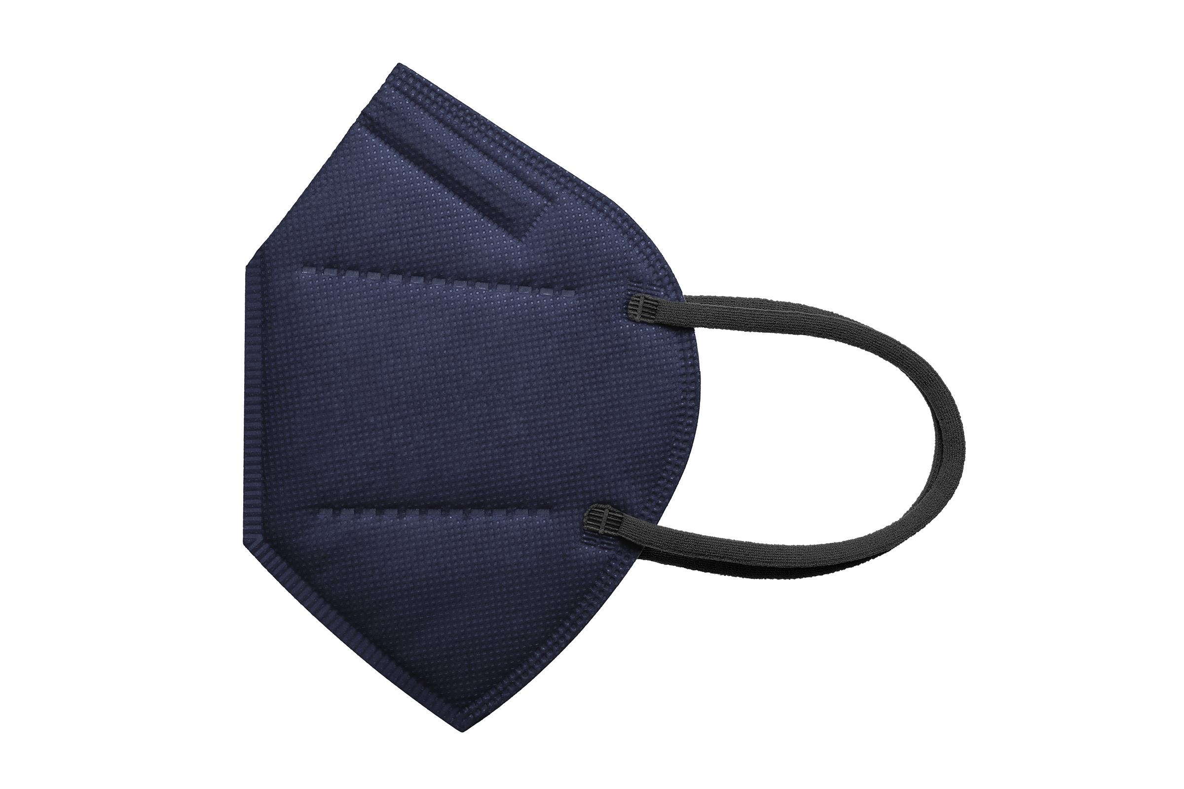 ONE FACEMASK BLACK - FFP 2 Atemschutzmaske schwarz ohne Ventil