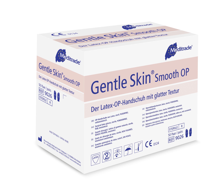 Gentle Skin Smooth OP - Latexhandschuhe puderfrei
