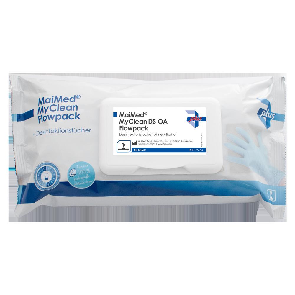MaiMed My Clean DS OA - Desinfektionstücher im Flowpack